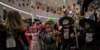 U podgoričkoj Delti održana Čudovišna žurka: Mališani uživali u maskiranju i veseloj atmosferi