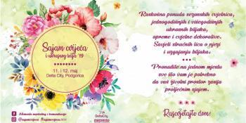 Sajam cvijeća i ukrasnog bilja ovog vikenda u podgoričkoj Delti: Rascvjetajte dom!