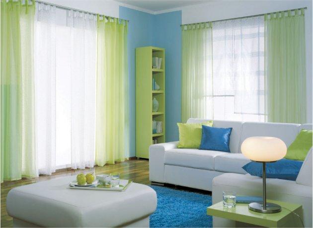 Kako izabrati zavjese za dnevnu sobu