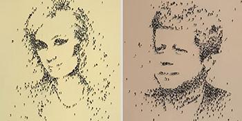 Neobični portreti - ljudi kao pixeli