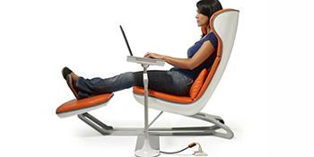 Kako pravilno sjediti za kompjuterom