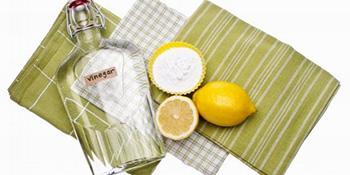 Kečap, sirće i vruća voda brišu mrlje, dok limun tjera muve