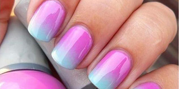 Uradite sami ombre – prelivajuće nokte