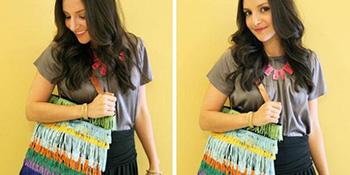 Od obične platnene torbe do trendi torbe sa resama