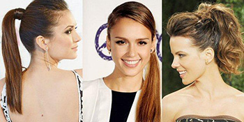 Uvijek u trendu - kosa svezana u glamurozni rep