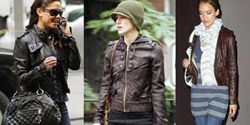 U trendu svake jeseni: kratka kožna jakna