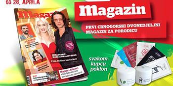 Peti broj Magazina u prodaji od 28. aprila