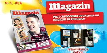 Jedanaesti broj Magazina u prodaji od 21. jula