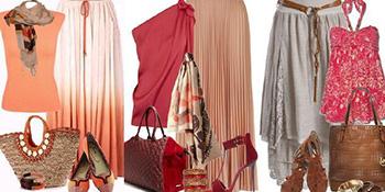 Kombinacije sa dugim suknjama