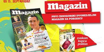 Petnaesti broj Magazina u prodaji od 15. septembra