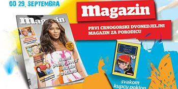 Šesnaesti broj Magazina u prodaji od 29. septembra