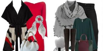 Pončo - Modni trend za jesen
