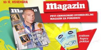 Devetnaesti broj Magazina u prodaji od 10. novembra