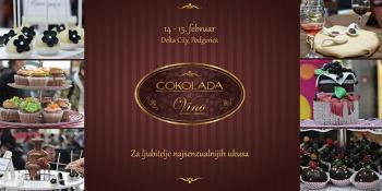 Manifestacija Čokolada&Vino 14. i 15. februara u podgoričkoj Delti