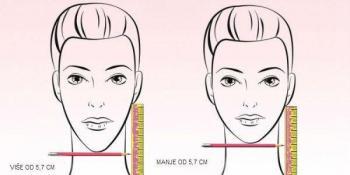 Pravilo 5,7 cm otkriva da li vam bolje stoji duga ili kratka kosa