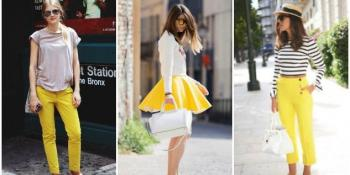 Zavodljiva žuta: Hit sezone proljeće-ljeto 2015