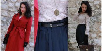 Audreysdream: Plisirana suknja za dah ljeta u sred zime