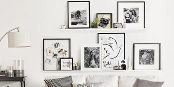 Nekoliko super predloga za postavljanje fotografija u kući