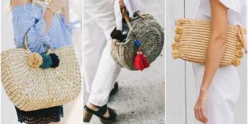 Apsolutni modni hit ljeta 2017: Torbe od pruća