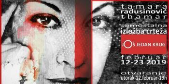 Treća samostalna izložba Tamare Radusinović krajem februara u Beogradu